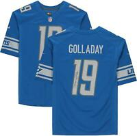 Kenny Golladay Detroit Lions Autographed Blue Nike Game Jersey