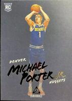 MICHAEL PORTER JR. 2018-19 Panini Chronicles Luminance #158 Rookie RC Nuggets