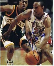 Chicago Bulls NBA Original Autographed Photos