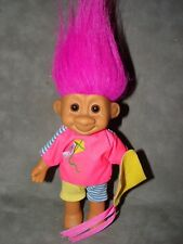 "Troll Doll 7"" Russ Travis Tracey Boy with Kite"