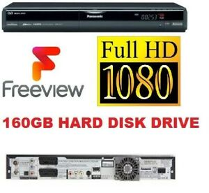 Panasonic DMR-EX77 Multi Format DVD Recorder With 160GB HDD + FREEVIEW + HDMI