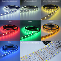 DC12V 5M LED Strip 5050 RGB RGBW RGBWW 60LEDs/m Flexible Light 5050 LED Strip
