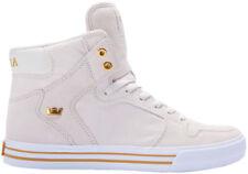 """Supra Vaider """"Off White"""" Herren Sneaker Gr. 44 Schuhe Skaterschuhe Wildleder NEU"""