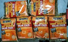 Lot of 6 Hothands Adhesive Body Warmer 8 Pack Body Warmers  Exp 2022 HH1ADH8PK
