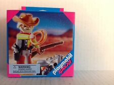 "Playmobil Western 4665 Cowboy with Campfire  ""NEW"""