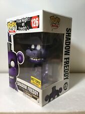 MIB Funko Pop! Games 126 Five Nights At Freddy's Shadow Freddy Exclusive