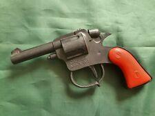 Pistola giocattolo agente 007 monocolpo CAL 45 cowboy indiani western vintage 80