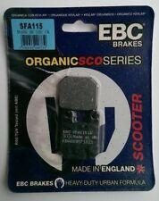 PEUGEOT LOOXOR 125/150 (2003 TO 2006) EBC organica DISCO POSTERIORE PASTIGLIE