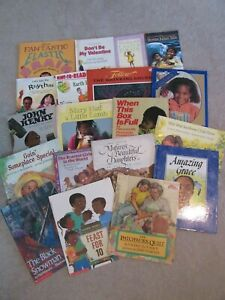Lot of 19 African American Picture Books Black History Multicultural