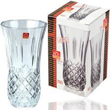 Rcr opera 25cm tall fleur de cristal grand vase coupe vase en verre pièce maîtresse