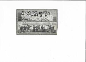 POSTCARPPC -TENNIS & HOCKEY TEAM, TENNESSEE COLLEGE, MURFRESSBORO, TN