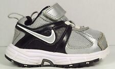 Nike Dart 9 Silver/Black/White In Size 4C (Toddler/Preschooler)