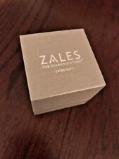 Zales the Diamond Store Silver Ring / Necklace / Earrings Jewelry Box NEW!