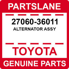 27060-36011 Toyota OEM Genuine ALTERNATOR ASSY