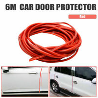6M Car Door Edge Guard Protector RED U Profile Roll Moulding Trim Strip UK