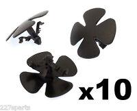10x Honda Plastic Trim Clips for Bonnet Insulation / Hood Insulator