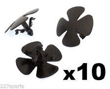 10x Honda Moldura De Plástico Clips Para Sombrero aislamiento / Capucha Aislante