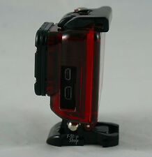 Red Skeleton Case Housing for Gopro Hero 3 3+ 4 with Lens mount and screw