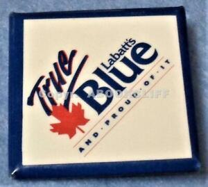 LABATT's TRUE BLUE and proud of it BEER Lapel Pin / Button