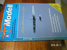 1?µ µ? Revue Modell (modele reduit avion RC en allemand) 1/1994