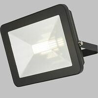 LED Black Floodlight c/w Microwave Sensor and Remote Control 10,20,30,50 and 80w