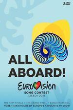 EUROVISION SONG CONTEST-LISBON 2018  3 DVD NEW!