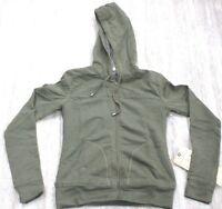 Da-Nang Surplus Women's Sweater Beaded Hooded Sleeves SWAMP FHT22631673 SMALL S