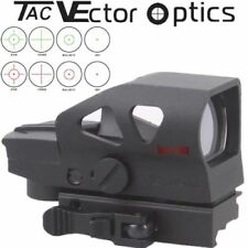 Vector Optics Ratchet 1x23x34 4 Reticle Reflex Red Green Dot Sight w QD mount g2