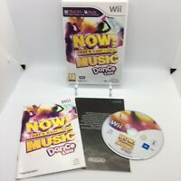 Now That's What I Call Music - Dance and Sing Wii - Nintendo Game