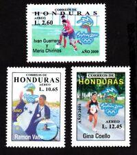 Olympic Honduras 2000 set of stamps Mi#1564-66 MNH CV=12€