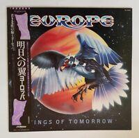 Europe - Wings Of Tomorrow - VIL6095 - Japan Pressing - Vinyl LP