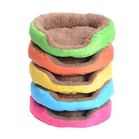 Soft Flannel Pet Dog Puppy Cat Warm Bed House Plush Cozy Nest Sofa Mat Decor