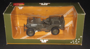 UT Models Willy's Jeep Offroad Classic 1:18 Scale Collectible Military Diecast