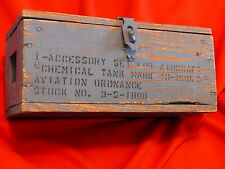 USN MARK 10 MOD 0 Aircraft Chemical Tank ACCESSORY SET Warbird EAA CAF WWII AAF
