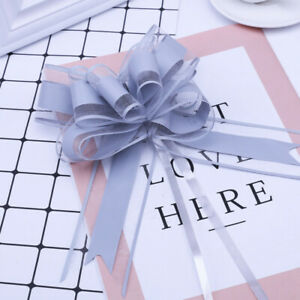 Organza Florist Pull Bows Ribbon Wedding Car Decor Gift Packaing 20PCS