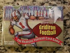 2009 GRIDIRON FOOTBALL STATOGAME INC SEALED CARD GAME REALISTIC STRATEGY