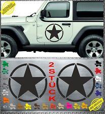 Sticker DUSTER tuning etoile army US star aufkleber adesivi pegatina decal 044B