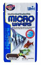 2x 45g Hikari Micro Wafers Slow Sinking Fish Food Tropical Tetra Cichlid Catfish