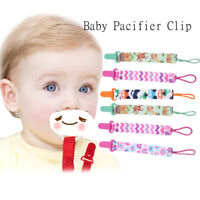 3 Pcs/Set Soother Pacifier Chain Nipple Holder Pacifier Clip Baby Pacifier