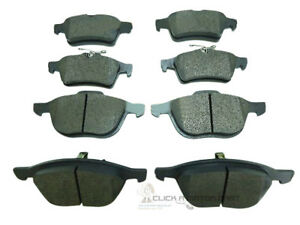 FORD FOCUS C MAX 1.8 2.0 TDCi 2004-2007 FRONT AND REAR BRAKE DISC PADS NEW SET