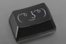 ABS Etched Shine-Through Novelty Keycap R2 1.50u Black Brand New  6558-r215