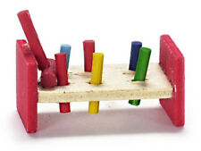 Dollhouse Miniature Child's Pounding Toy - 1:12 Scale