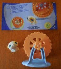 Littlest Pet Shop Portable Pet Gerbil Hamster Wheel Stand 2005