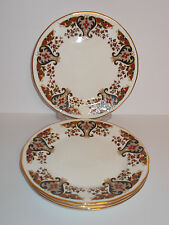 4 x Colclough Bone China Side Cake Plates with Edge Design Lovely