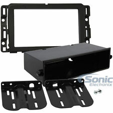 Scosche GM5213B Single/Double DIN Car Dash Kit for Select 2013-Up Chevrolet/GMC