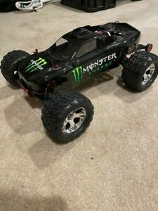 Traxxas Rustler VXL with lots of aftermarket parts .......GREAT DEAL !!!!