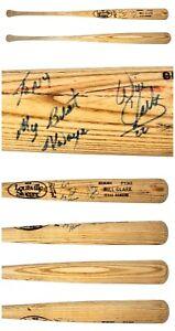 JSA PSA COA Will Clark Autographed Signed Game Used Baseball Bat Rangers Giants