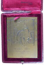 Art Deco ECOLE CENTRALE DES ARTS & MANUFACTURES bronze 65x 88mm by Larmourdedieu