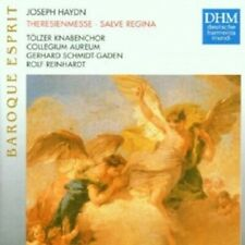 SCHMIDT-GADEN/TÖLZER KNABENCHOR - THERESIENMESSE (JOSEPH HAYDN) CD 6 TRACKS NEW+