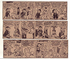 Pogo by Walt Kelly - 27 large 5 column daily comic strips - Complete May 1956